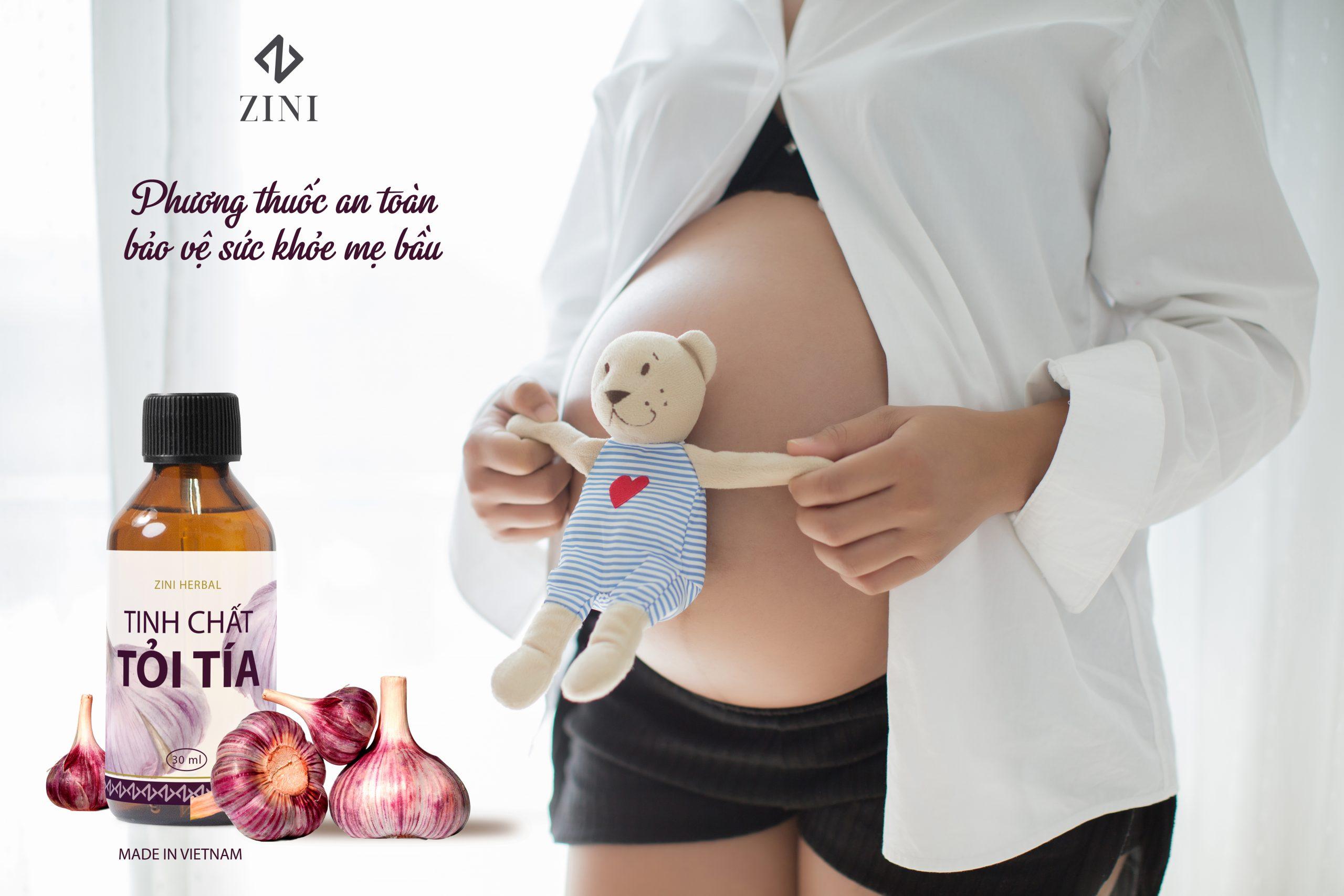 tinh chat toi tia cho phu nu mang thai